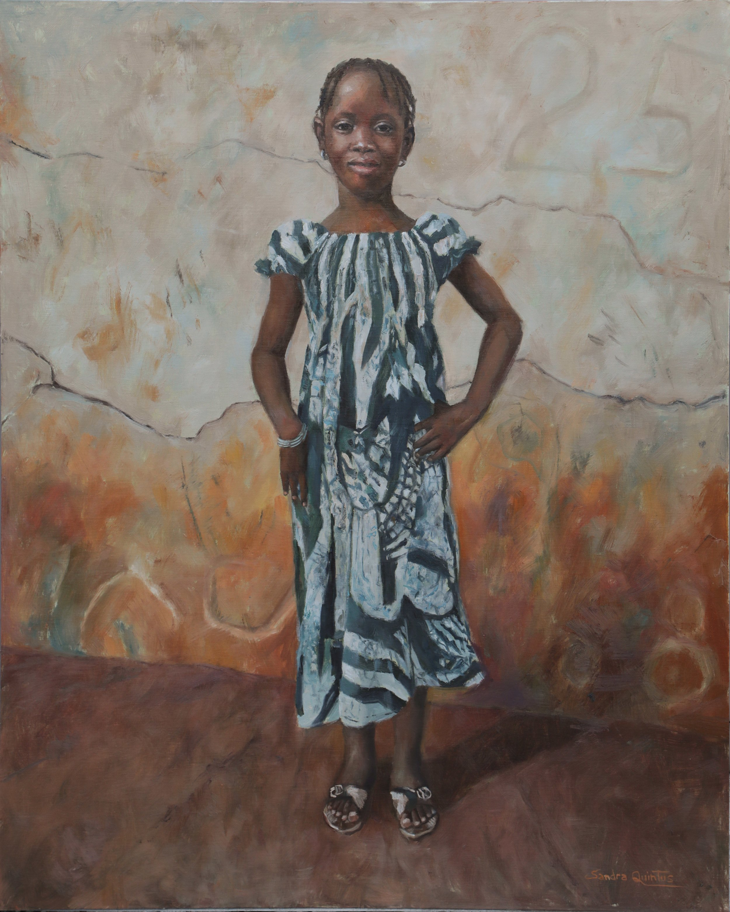 West African Grace - SOLD