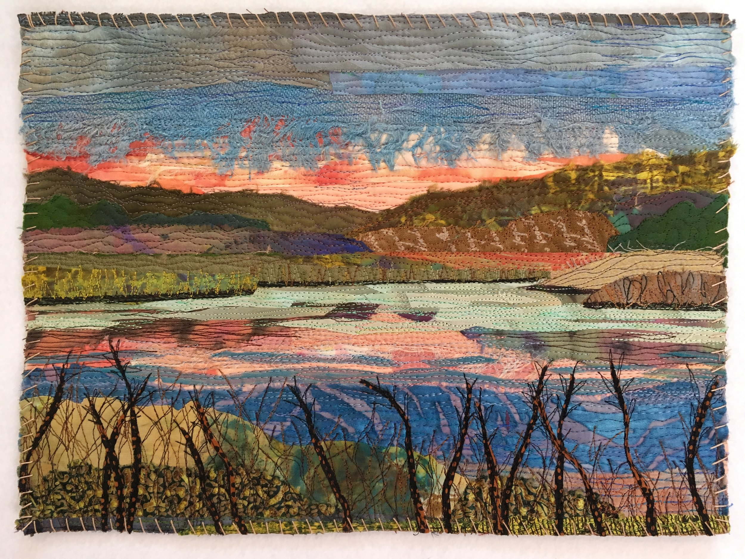 Town Park Sunset - SOLD