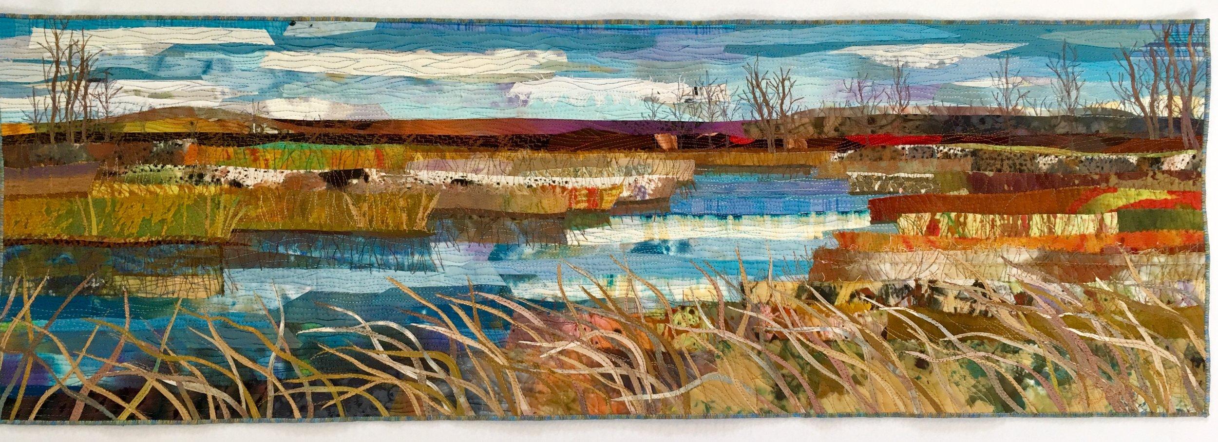 Marsh near the Trinity - SOLD