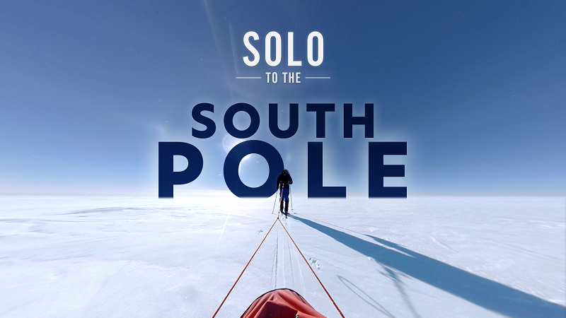 50 days to the South Pole. Solo and unassisted. Matthieu Tordeur set himself a tough challenge.