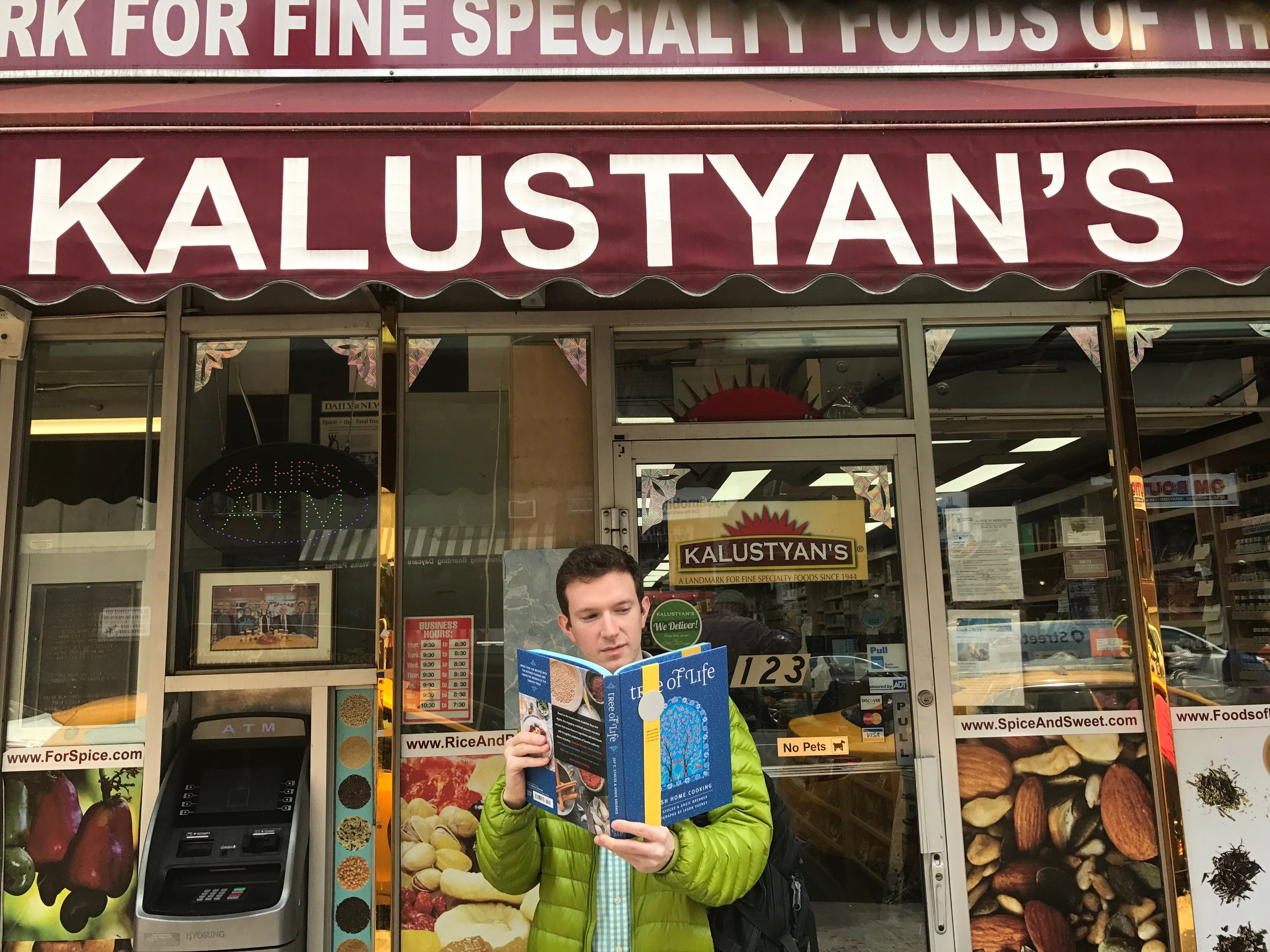Tree of Life goes to Kalustyans in New York City.