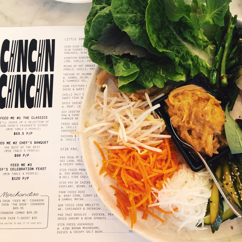 CHIN CHIN veggie wraps