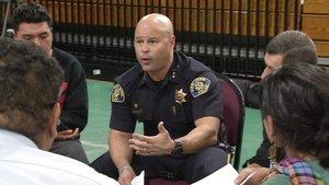San Jose Police Chief Eddie Garcia speaks on Thursday, April 21, 2016. (KGO-TV)