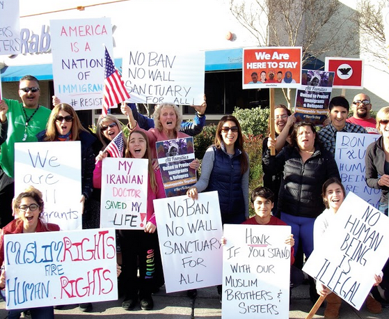 Gilroy protests as city council puts immigration, human rights on the agenda