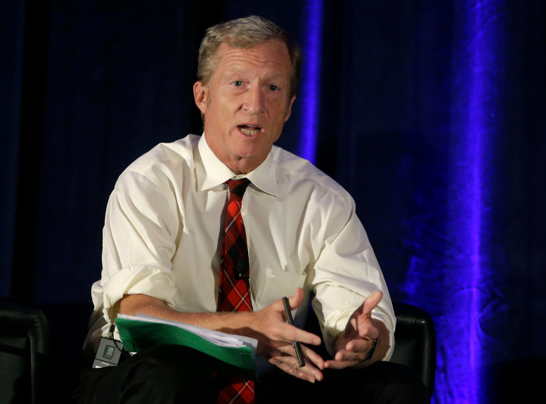 Tom Steyer in the spotlight at PACT awards luncheon