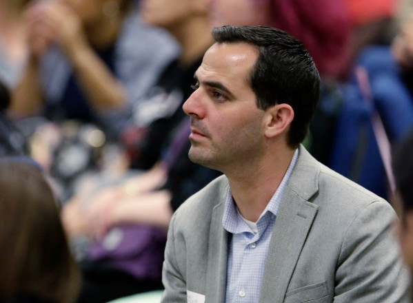 Aaron Zisser, photographed at a Sept. 25, 2017 community meeting in San Jose, resigned as the city's independent police auditor less than a year into his tenure amid heavy criticism and political pressure. (Josie Lepe/Bay Area News Group file photo)