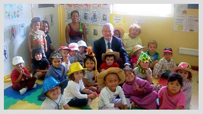 Ecole du Centre à l'Île Maurice