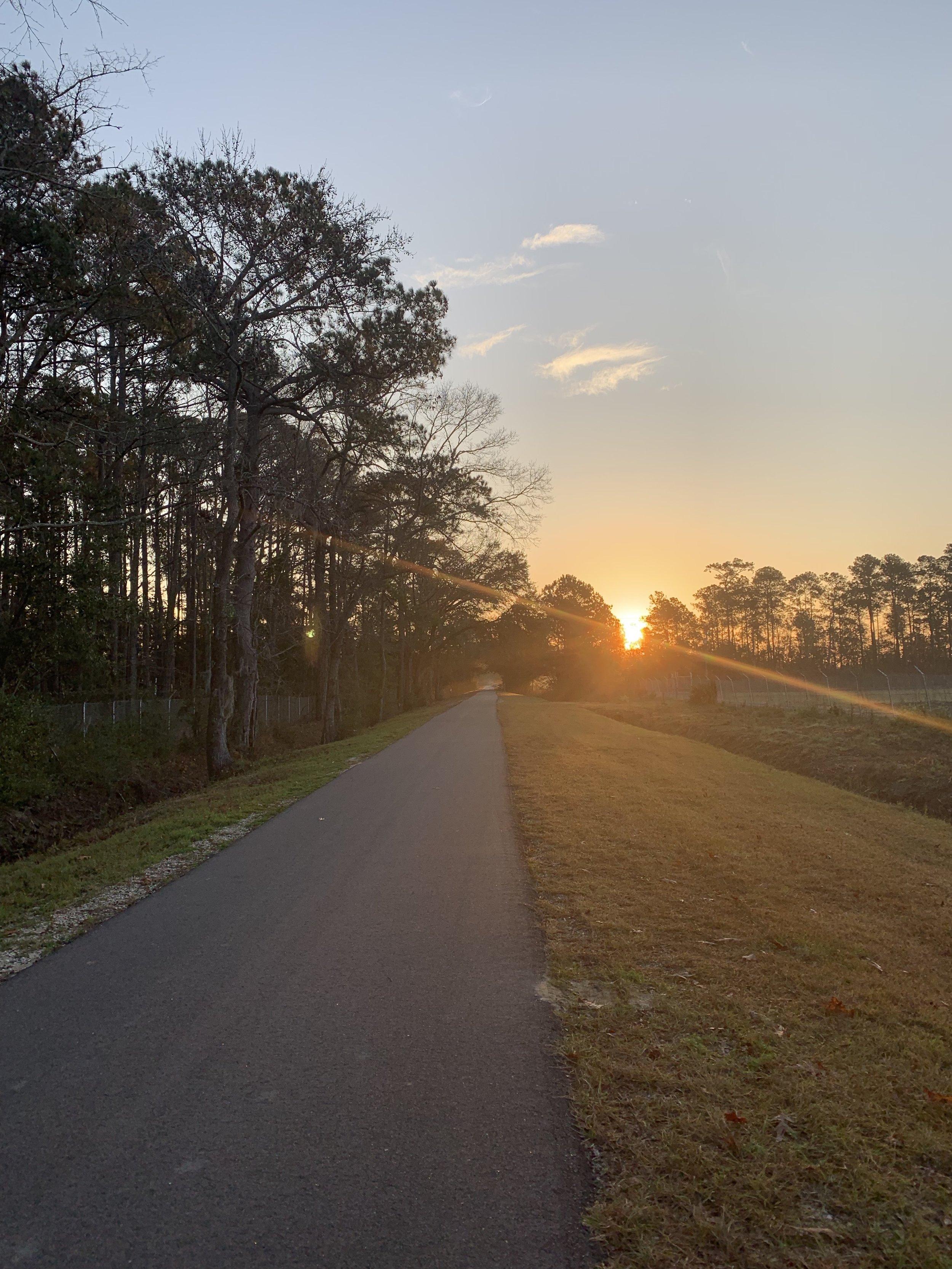 — the sun will always rise & set regardless