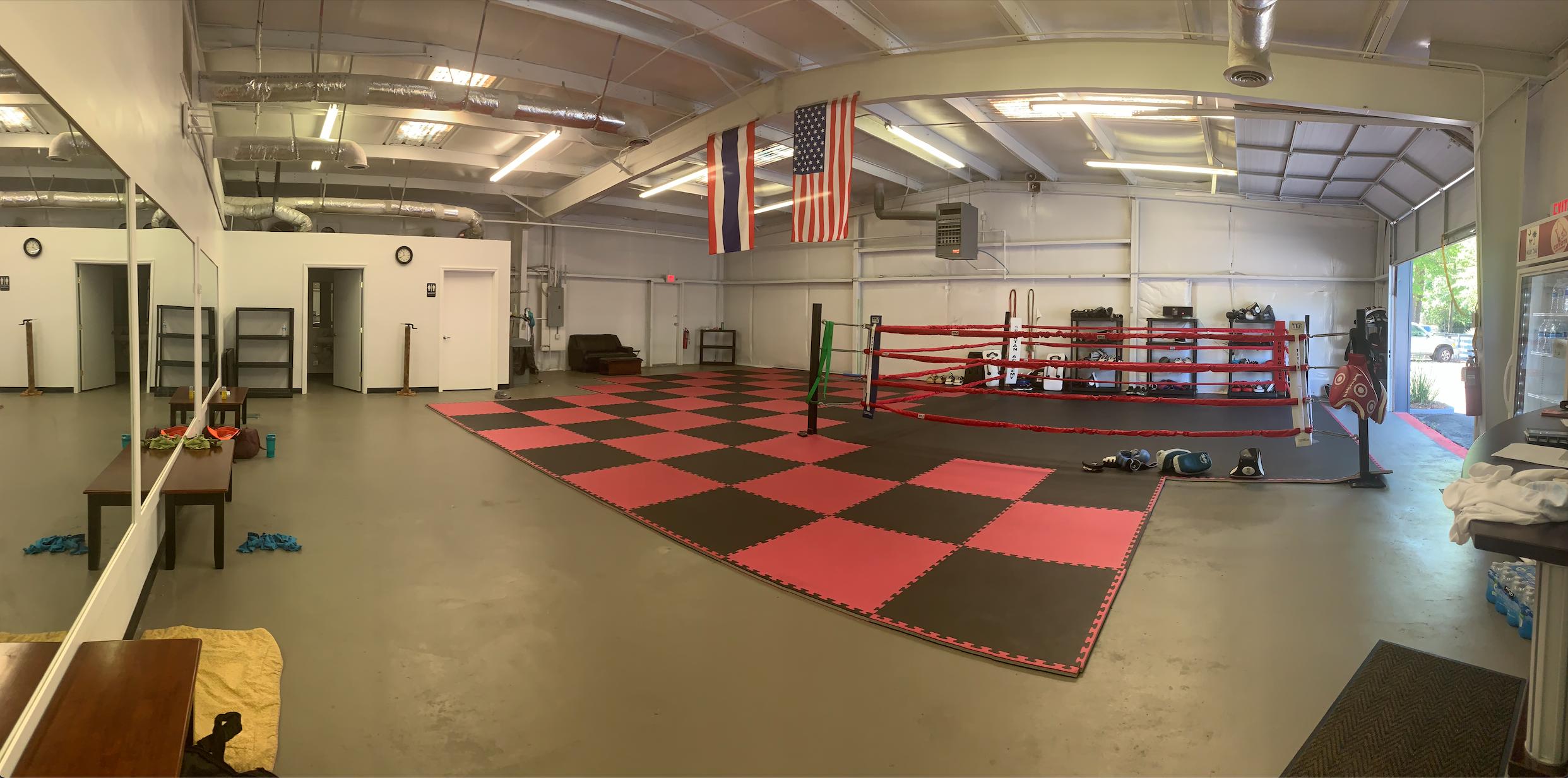 inside Charleston Muay Thai & Boxing - 1856 Belgrade Ave, Charleston, SC