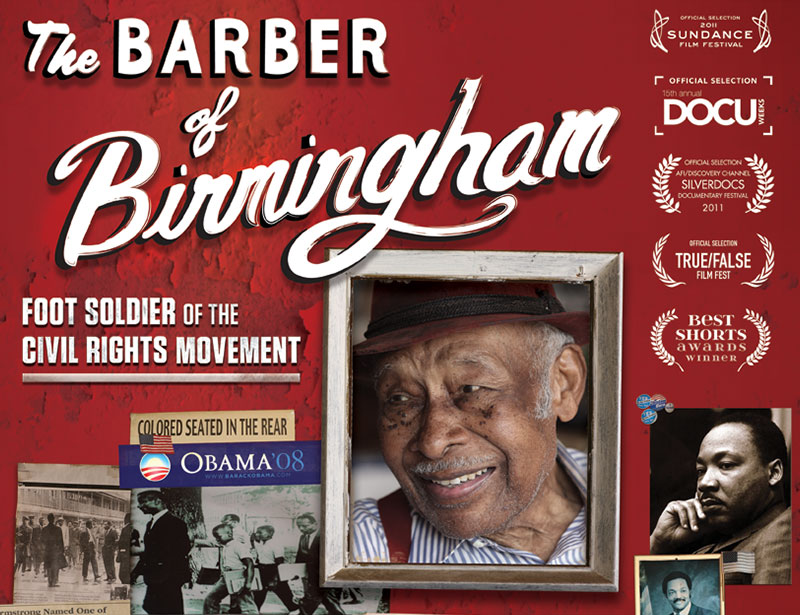 Branding + Web Design   THE BARBER FILM  view