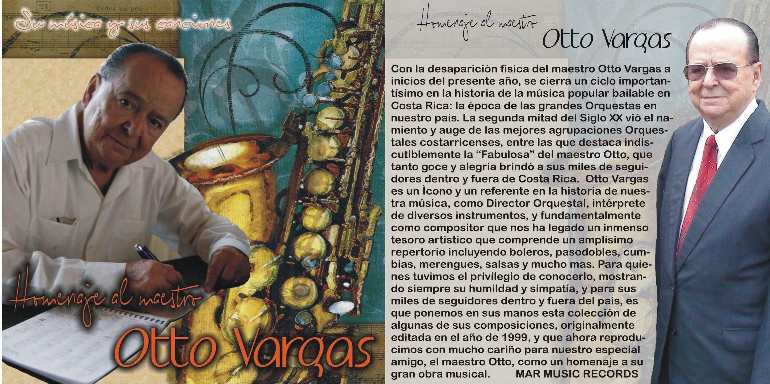 ● Músico alajueliteño falleció el 2 de febrero a sus 89 años  ● Discos incluyen las voces de Ronald Alfaro, Rafael Pérez y Jorge Duarte, entre otros