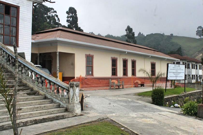 Vista general del complejo arquitectónico del Sanatorio Carlos Durán.