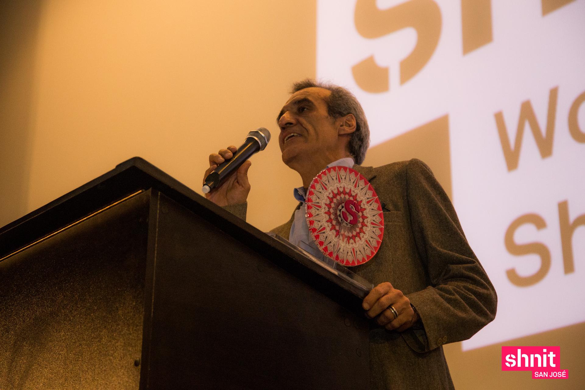 Cesar Maurel (padre de Valentina Maurel ganadora del jurado).