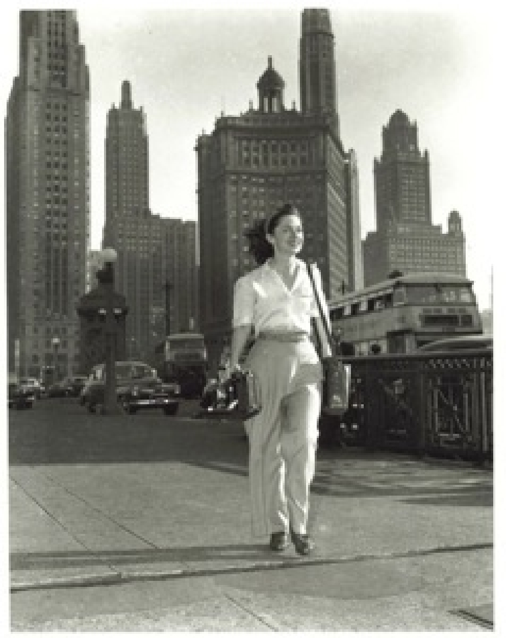 Chicago,  Glamour  magazine 1945