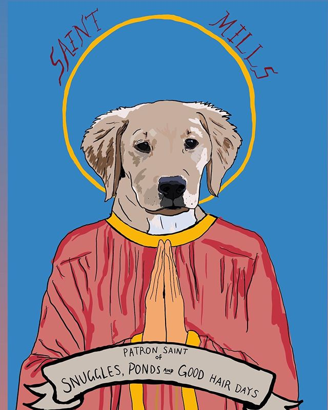 ✨awesome alert ✨                custom patron saint pet prayer candles by my sister! want one?!? they are freakin amazing. she draws them all by hand based on your specific pet and then prints then onto prayer candles. $40 for the first one and then $15 per extra candle of the same drawing. such a great gift and such a great deal. email her at vmfisk.art@gmail.com to place an order. 💯🎉🙌🏼✨👌🏼 (scroll to see more...the candles are on the last pic)