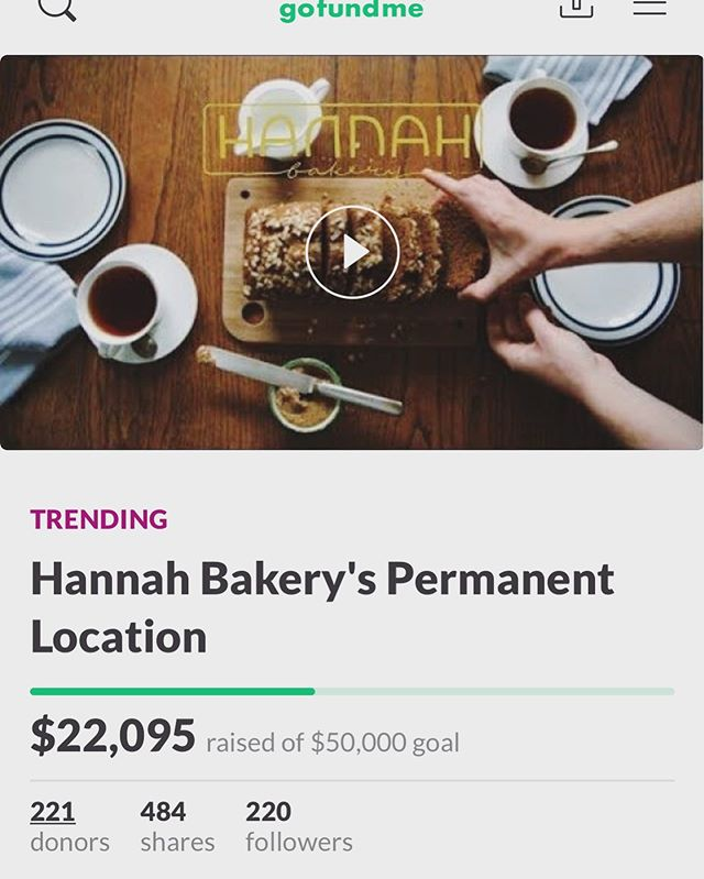 to know @hannahcasparian is to love her. to eat her food is a gift. she puts passion, hard work and love into all she does and i am so proud to call her one of my nearest and dearest. she is in the process of opening her bakery (@hannahbakery ) that she has been saving for, planning for and working toward for basically her whole life. she is almost halfway to her fundraising goal and and now we are at the final push! i'm sharing this on social media in hopes this will reach people who love good food and want to support a wonderful person see her dreams come to fruition. also, next time you're in austin, to you can visit her bakery!! please donate if you can. even the smallest amount makes a dent!! xoxo link in instastory! also here: https://www.gofundme.com/f/hannah-bakery039s-permanent-location?utm_source=customer&utm_medium=copy_link&utm_campaign=p_cp+share-sheet
