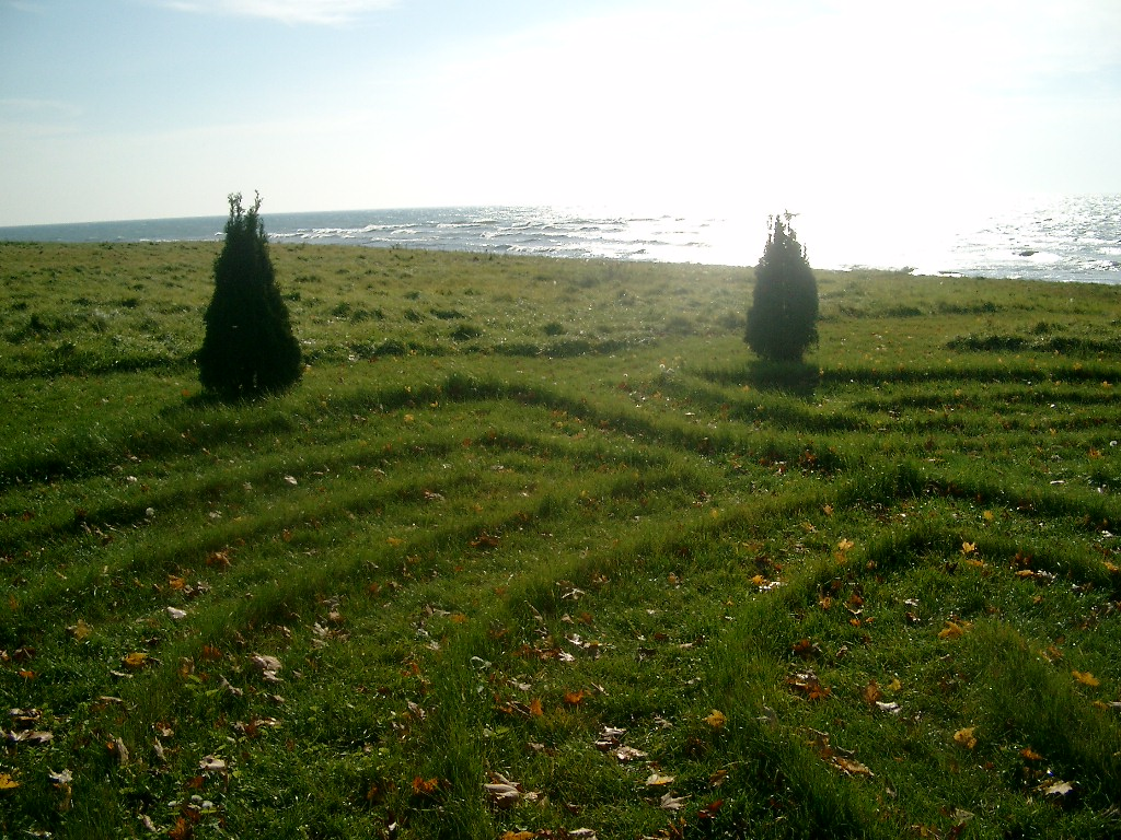 Labryinth  - Our labyrinth is located on the east field of the Villaoverlooking the lake.  This ancient symbol reflects our path of life and our journey with God