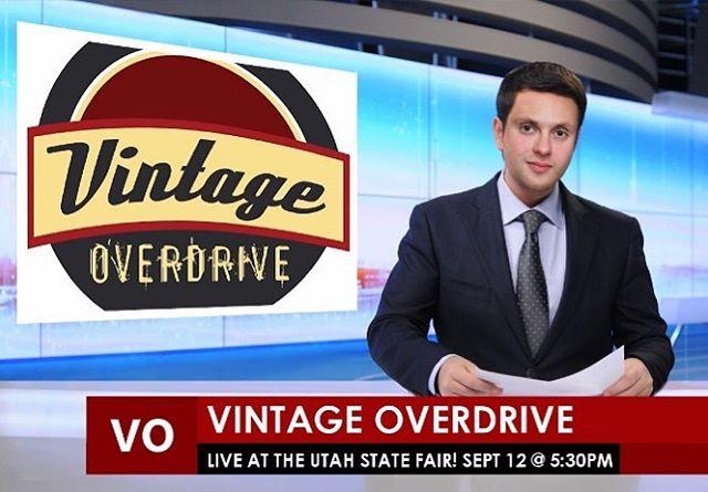Extra extra!! Vintage Overdrive Excited to rock at the Utah State Fair! Sept 12 at 5:30! . . . . #vintageoverdrive #rocknroll @utahstatefair #blues #bluesrock @ampeg @fender @gibsonguitar @dwdrums @sennheiser #utah #utahstatefair #livemusic #slc