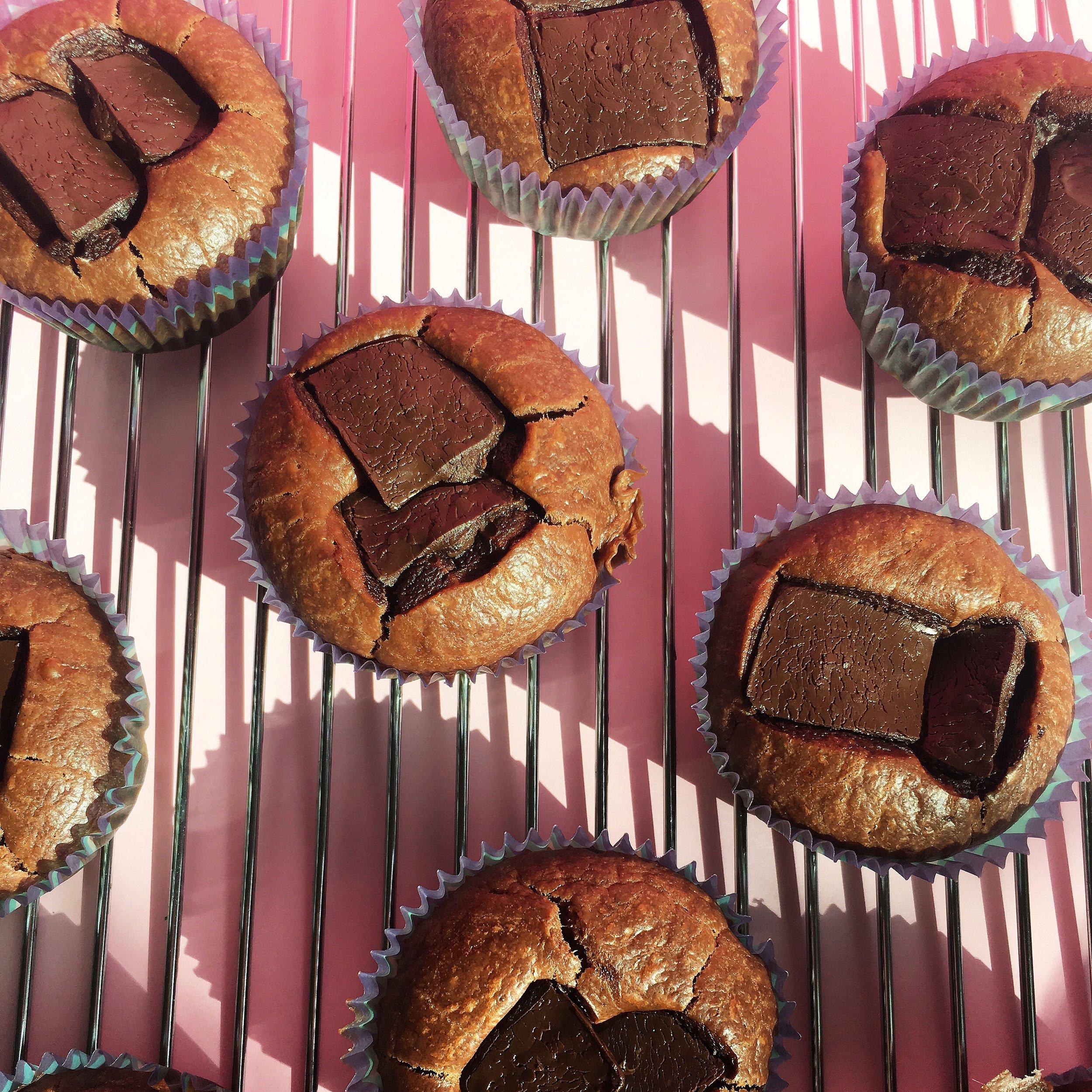 vegan healthy chocolate cupcakes
