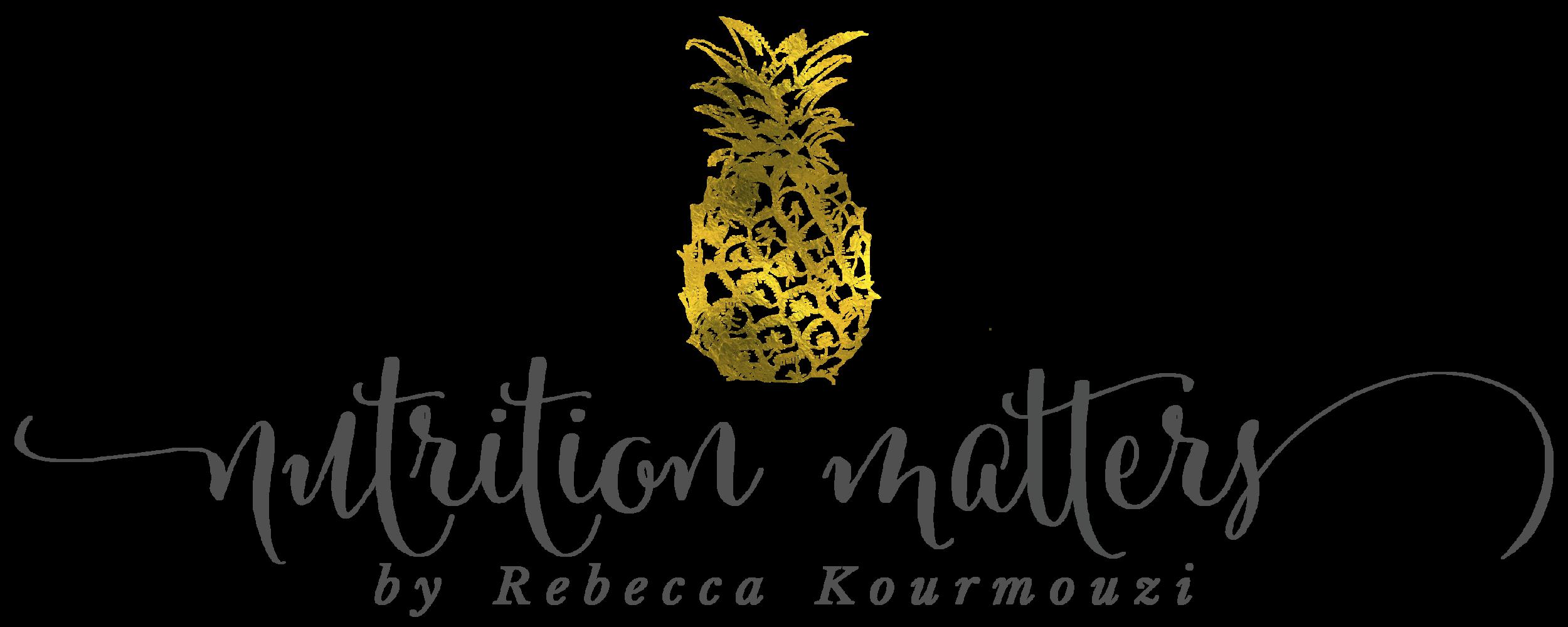 Nutrition Matters by Rebecca Kourmouzi