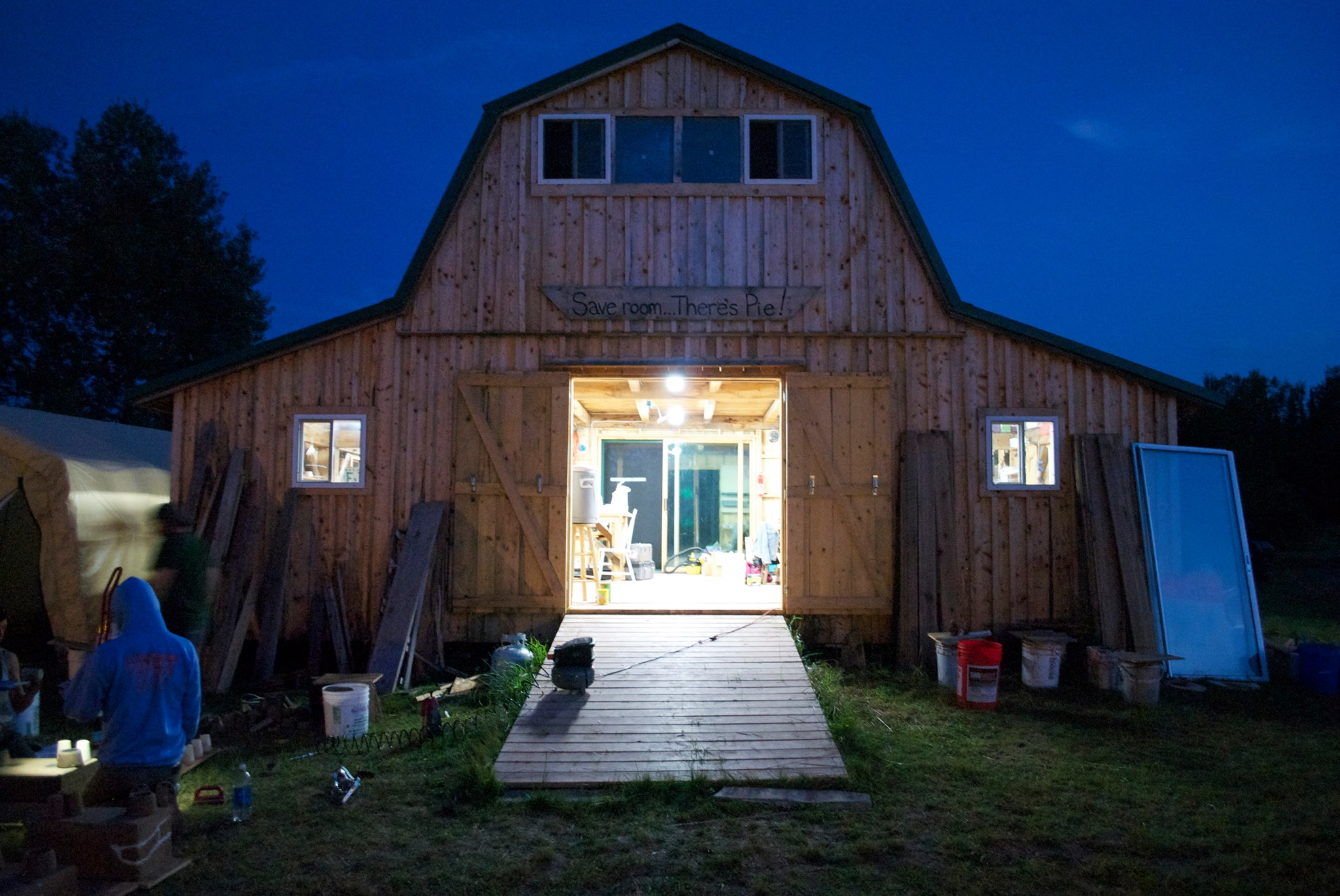 We adore the Seeger Studio Barn!