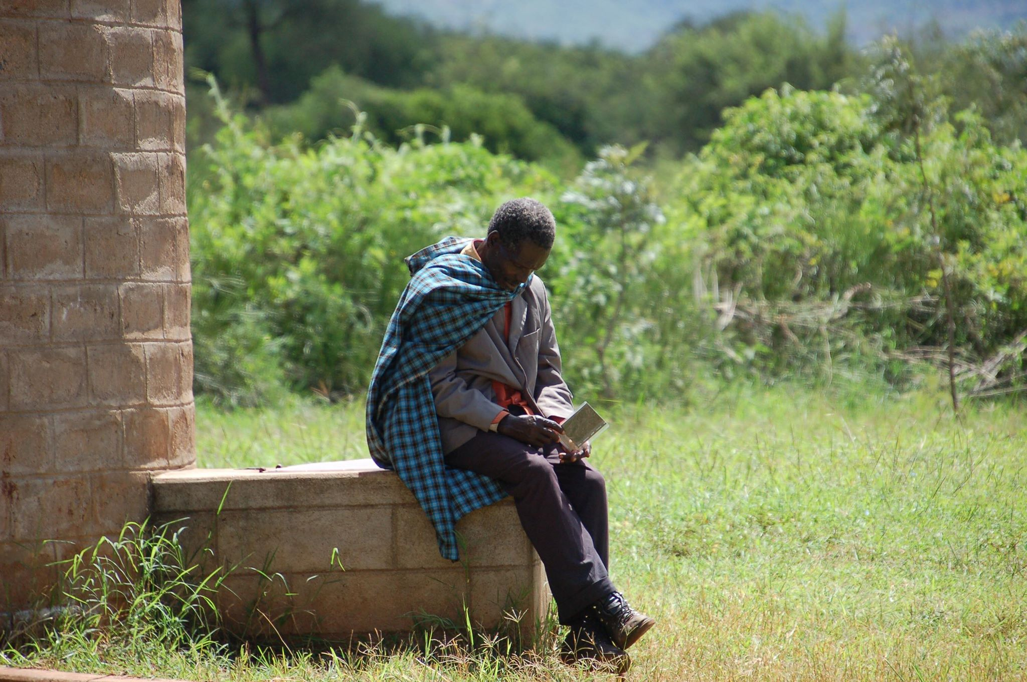 Instant photograph Tanzania