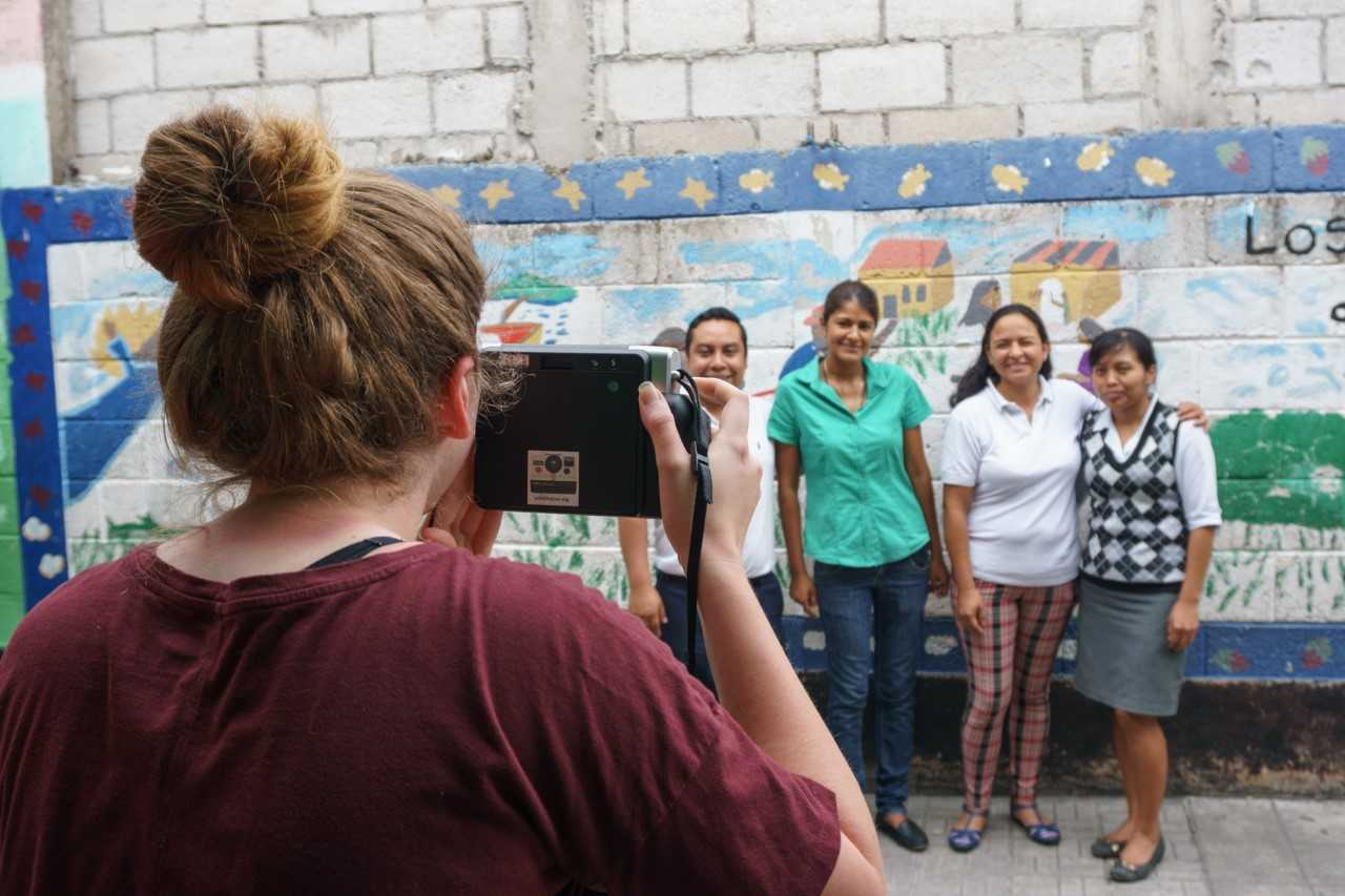 family photos in Guatemala