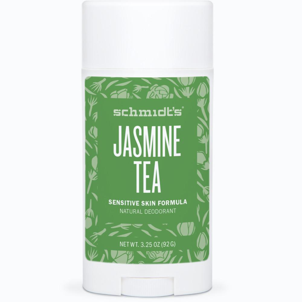 Schmidt's Deodorant Stick Sensitive Skin - (Geranium Flower and also Jasmine Tea) I loved the scent of Jasmine Tea. Geranium Flower is good as well but I think the floral aspect can get old quick if you have a sensitive nose. I've found that these do just as well as the regular version despite being baking soda free. I wish the scents were the same across the Sensitive Skin line and regular line. Also, the sensitive skin line is $2 more than the regular line which I find quite annoying.  Price $10.99