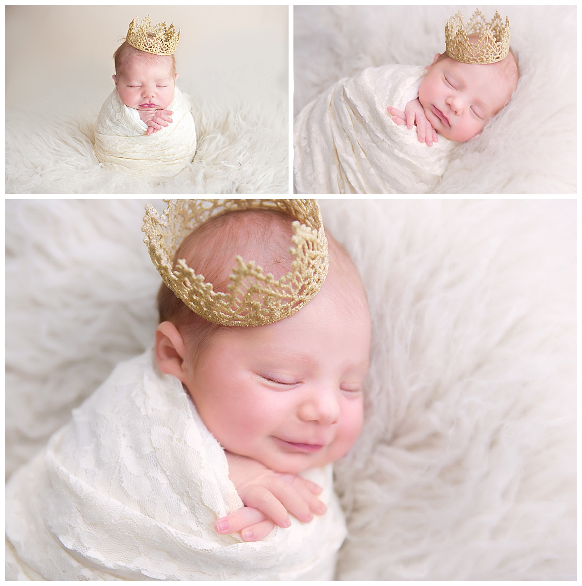 Newborn Princess Pictures Joy of Life Photography Orangeville Ontario