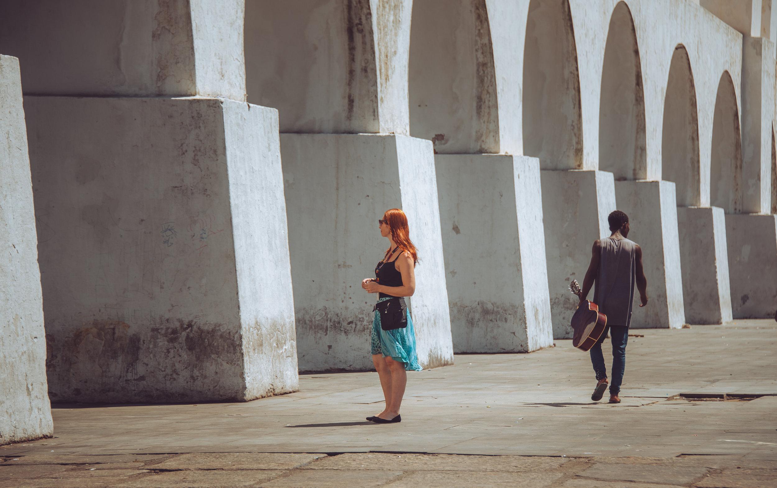 The Carioca aqueduct in Rio