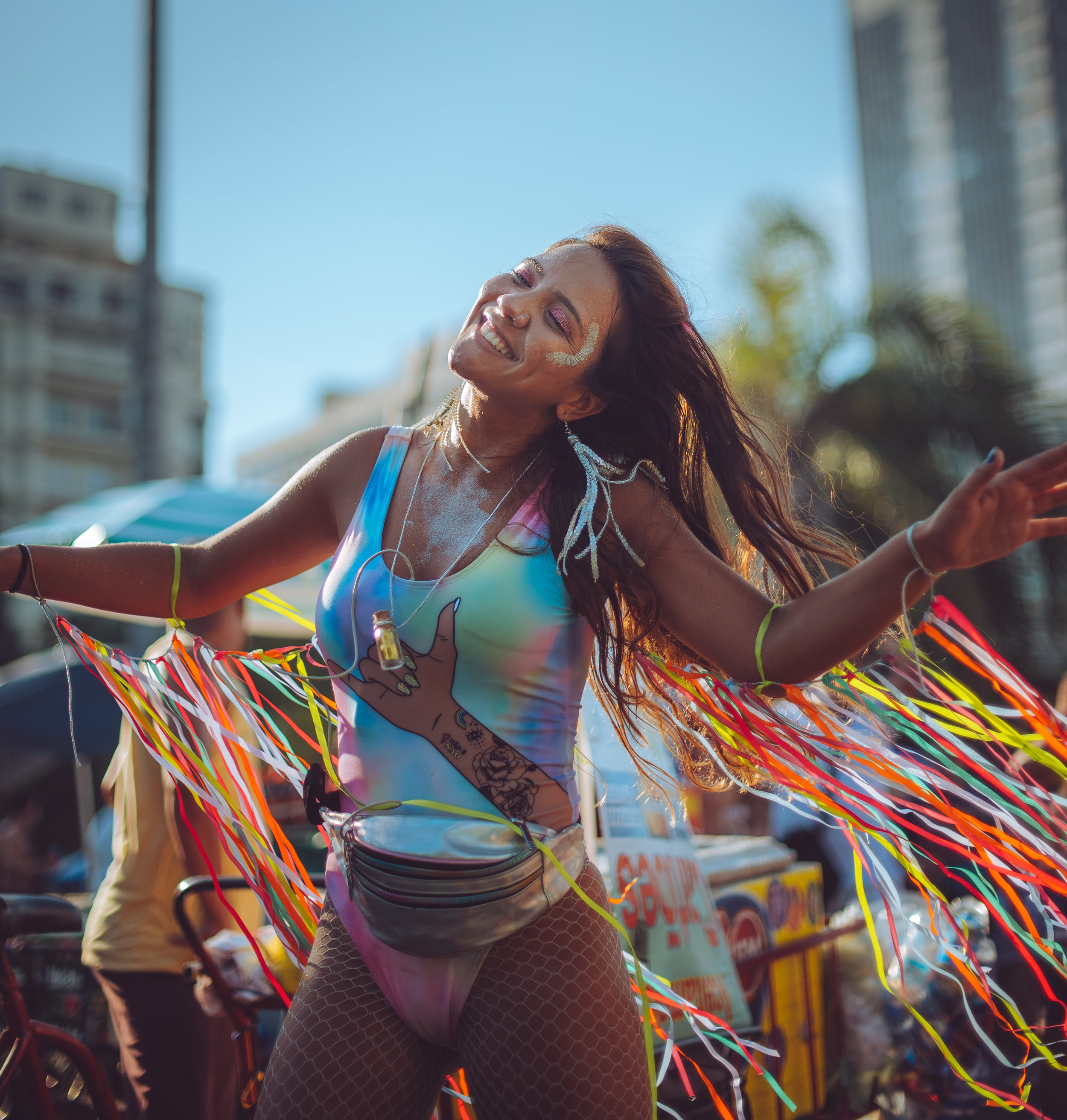 Lost in the music at the Rio Carnival