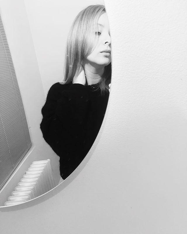 Dirty mirror.
