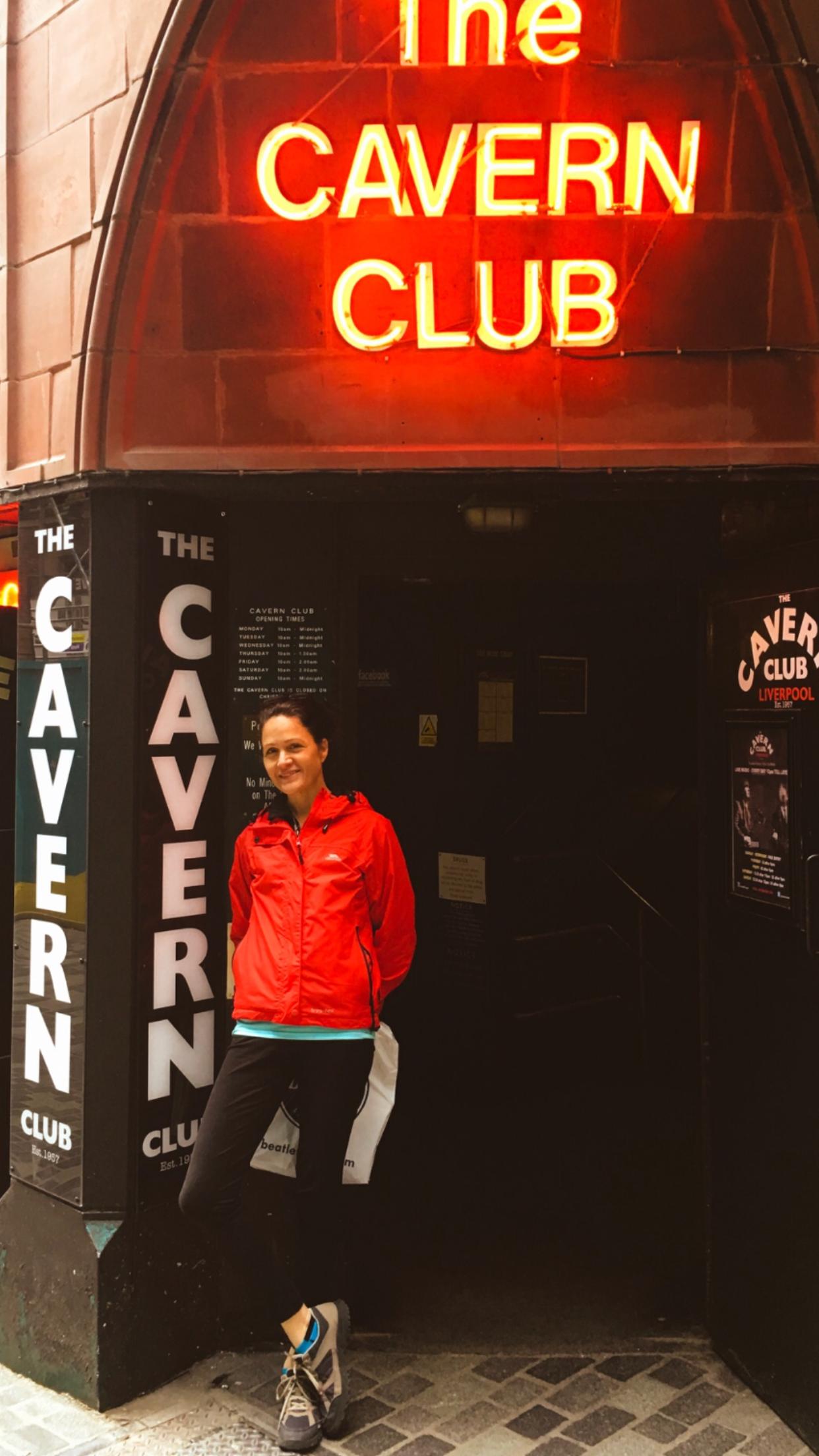 Me outside the Cavern Club.