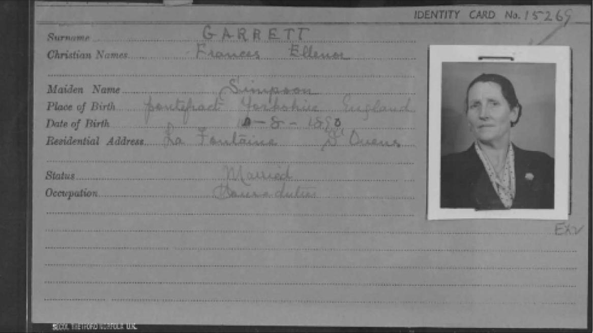 Victoria's grandparents and Jersey war heros, the Garretts