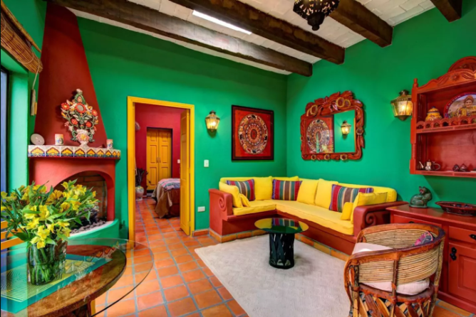Our little Casita Frida at Casa Mandu -- a true haven in the middle of town.