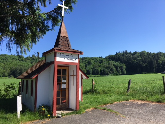 Who could pass this up? The Wayside Chapel in on many lists of quirky must-stops, including  Quirksee .