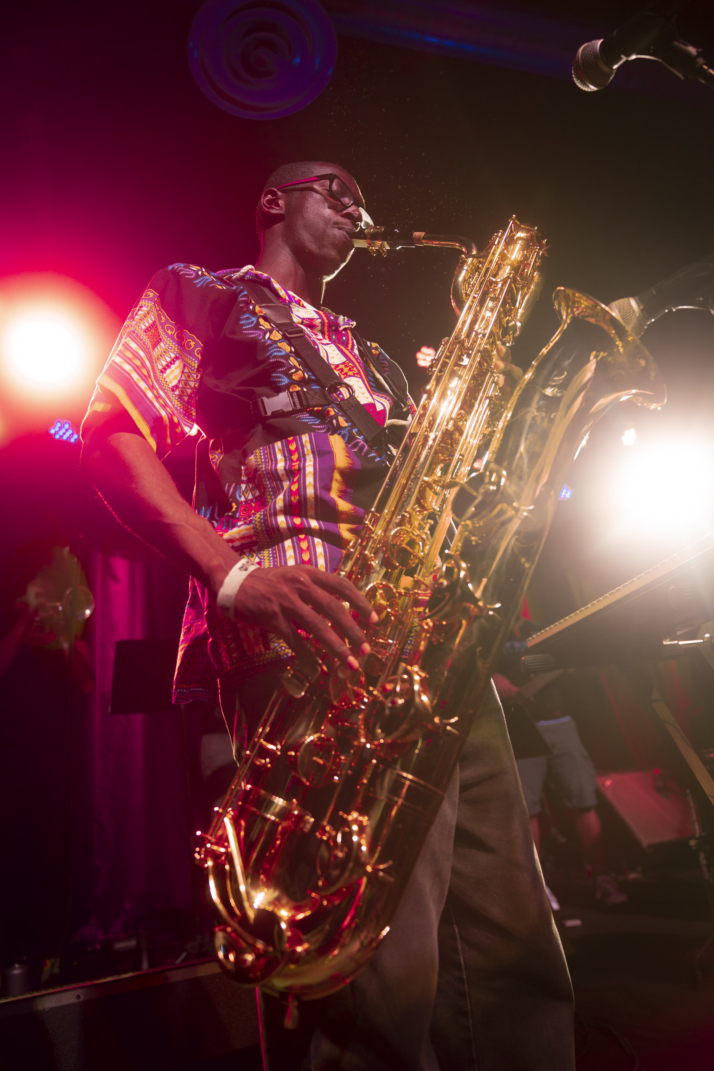 Daniel Jones - musical director , saxophonist & electric piano