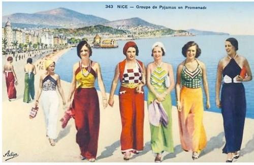 1930s: Beach Pajamas (my favorite!)