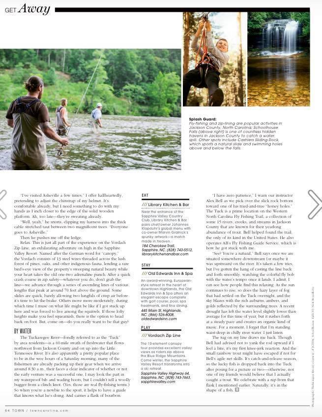 Town Magazine, September 2017