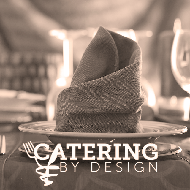3 Course Yummy Sit-Down Dinner - provided by Catering By Design, Philadelphia's premier catering and event company