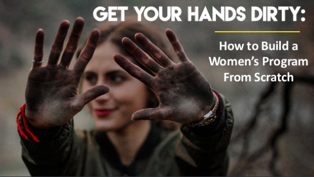 "BUILDING A WOMEN'S PROGRAM FROM THE GROUND UP    Wonder Woman Tech Conference   Featured  solo speaker  at the 2017 Wonder Woman Tech Conference. Presented  ""Get Your Hands Dirty: How to Build a Women's Program From Scratch"""