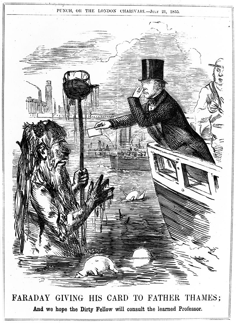 Punch cartoon from 1855