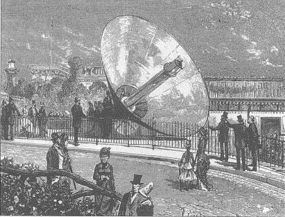 Mouchot's solar generator, 1878