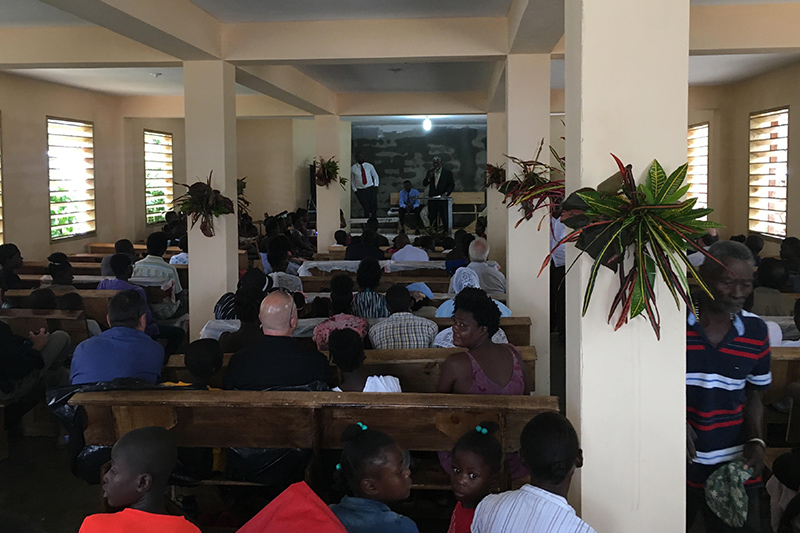 We had a wonderful building dedication.The new church is a blessing from the Lord that will be used to advance His Gospel. Thank you for your help!