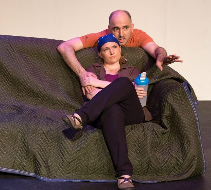 Tomorrow Happens  with taxdeductible theatre. Pictured with Laura Iris Hill.