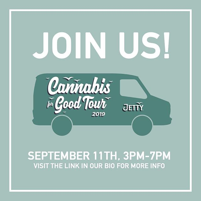 Our friends @jettyextracts will be coming to visit on Wednesday, September 11th between 3:00-7:00pm. They will be out here engraving Pax Era Devices and educating on Shelter Project! Click the link in our bio for more information! 📝🚐#CannabisForGood #airfieldsupplyco #highisaplace