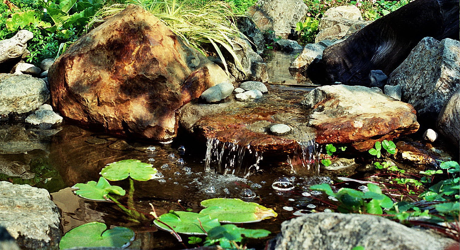 NATURALISTIC WATERFEATURE