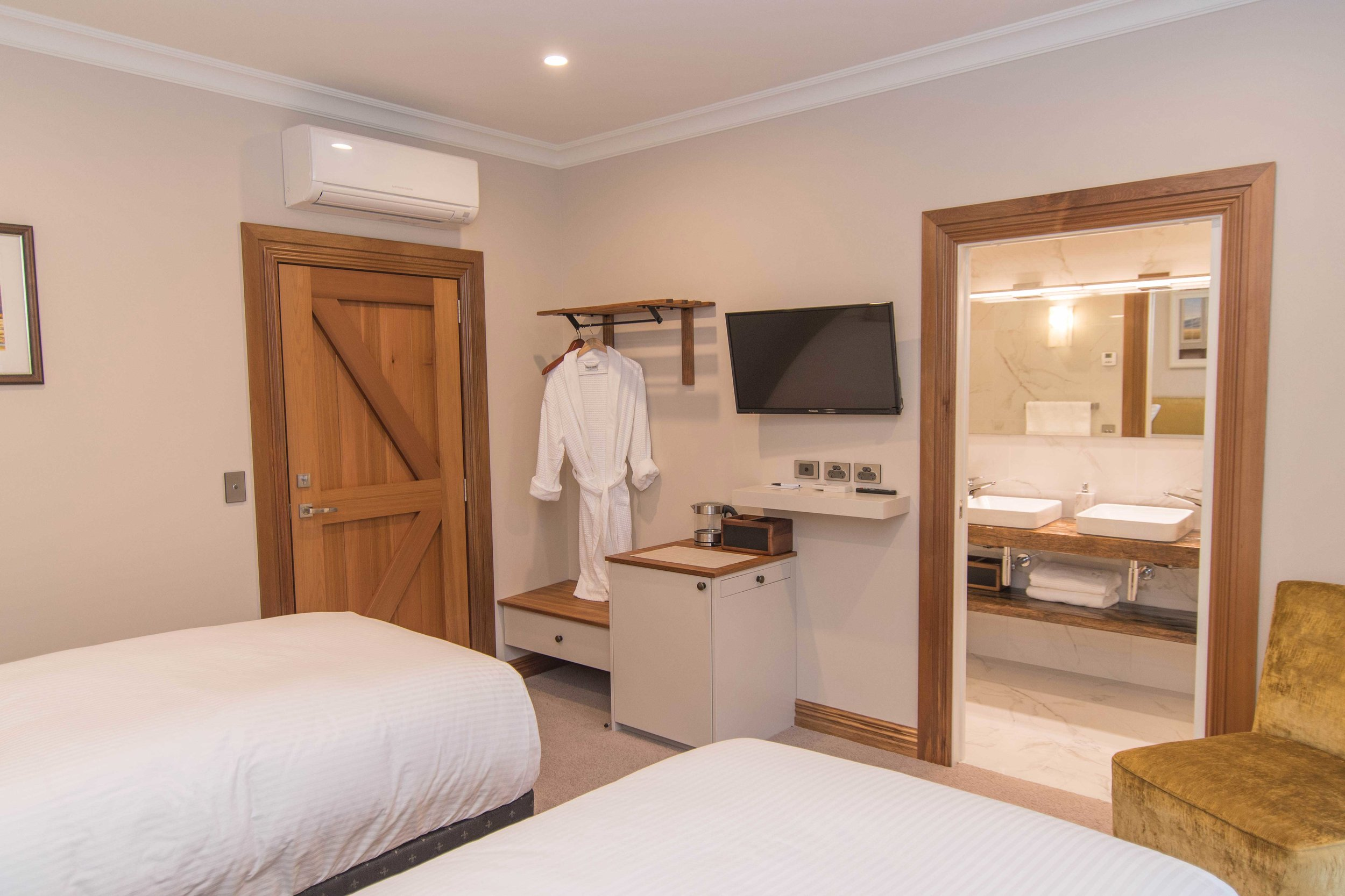 Relax in our luxury accommodation, where every little detail has been thought of.