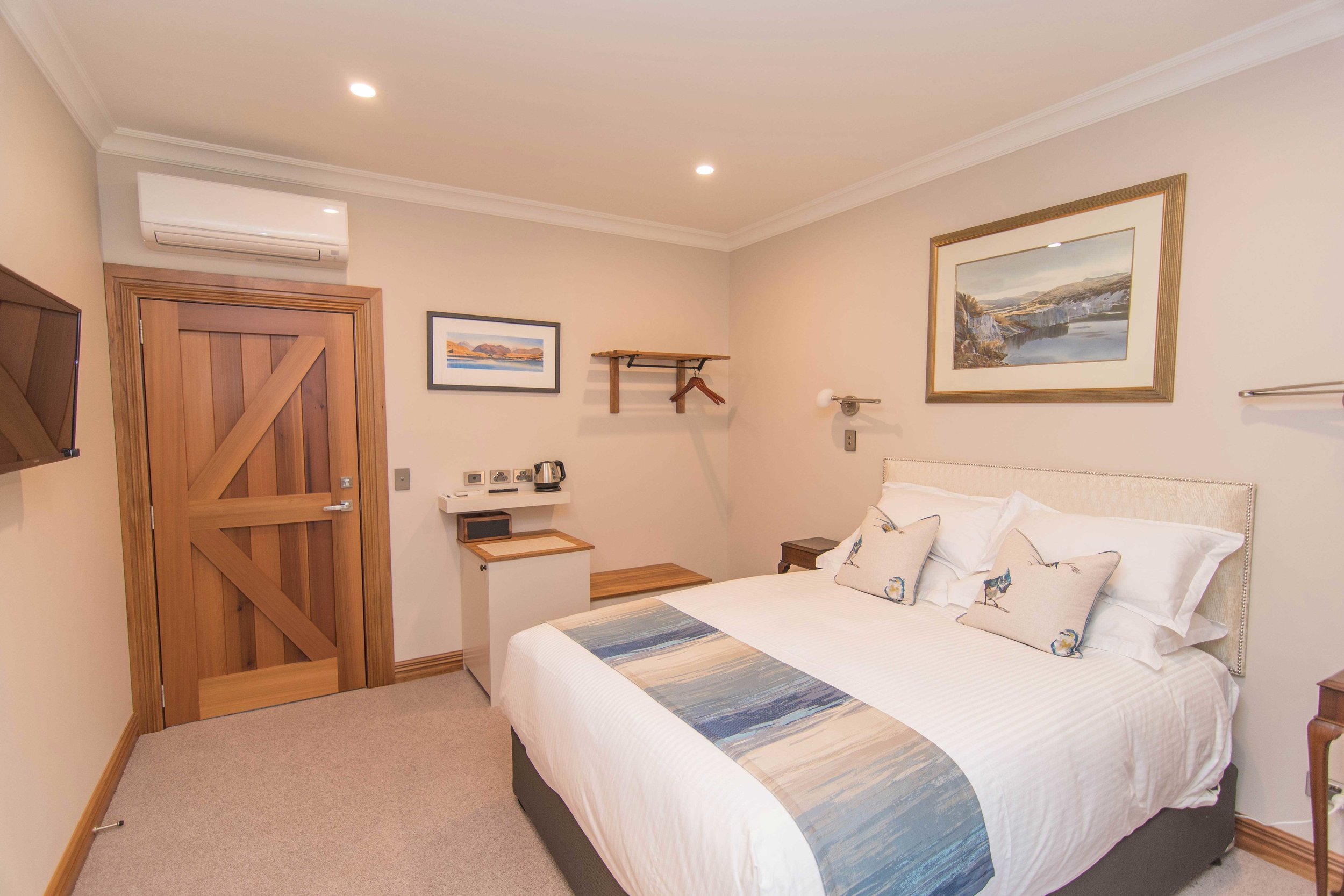 Make yourself at home in your luxuriously outfitted room.