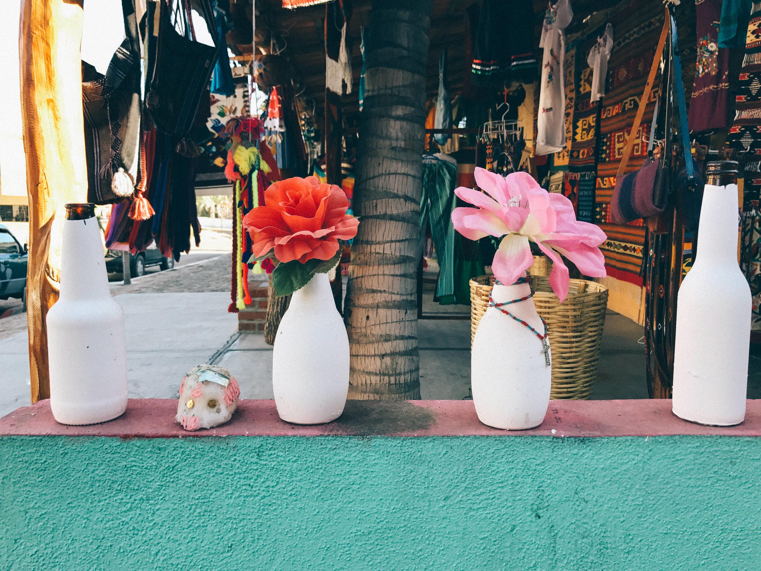 shop local markets and goods in todos santos